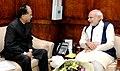 The Chief Minister of Assam, Shri Tarun Gogoi calls on the Prime Minister, Shri Narendra Modi, in New Delhi on December 16, 2015 (1).jpg