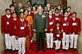 The Chief of Army Staff, General Bipin Rawat with the children winning the National Bravery Awards for 2017, in New Delhi on January 18, 2018.jpg