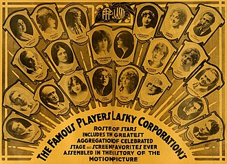 Famous Players-Lasky - Advertisement (1916)
