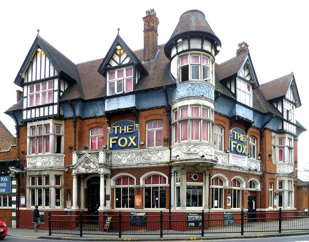 the fox palmers green wikipedia. Black Bedroom Furniture Sets. Home Design Ideas