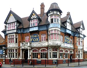 Asset of community value - The Fox public house in Palmers Green became the first ACV in the London Borough of Enfield in 2015.