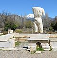 The Hadrianic Baths, the largest public bath building in Aphrodisias built in the early 2nd century AD and dedicated to Hadrian, Aphrodisias, Turkey (17195010472).jpg