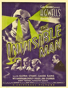 Description de l'image The Invisible Man (1933) poster.jpg.