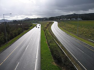 N11 road (Ireland) - M11 at Shankill
