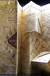 The Marauder's Map (opened).jpg
