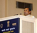 The Minister of State (Independent Charge) for Micro, Small & Medium Enterprises, Shri K.H. Muniyappa addressing at the launch of 'Khadi Mark', in New Delhi on September 30, 2013.jpg