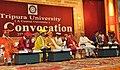 The President, Smt. Pratibha Devisingh Patil at the 8th convocation of Tripura University in Agartala on September 25, 2010.jpg