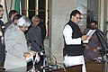 The President Dr.A.P.J.Abdul Kalam administering the Oath (Minister of State) to Shri T.Subbarami Reddy, in New Delhi on January 29,2006.jpg