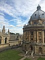 The Radcliffe Camera and All Souls College, taken from the Upper Reading Room of the Old Bodleian Library.jpg