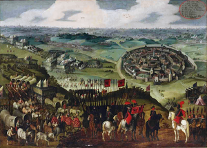 War of the Jülich Succession - Image: The Siege of Aachen