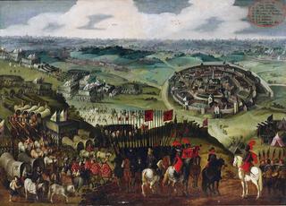Siege of Aachen (1614) Spain defeats Aachen and Brandenburg during the War of the Jülich Succession