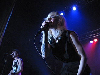 The Sounds - The Sounds performing in Montreal in 2006.