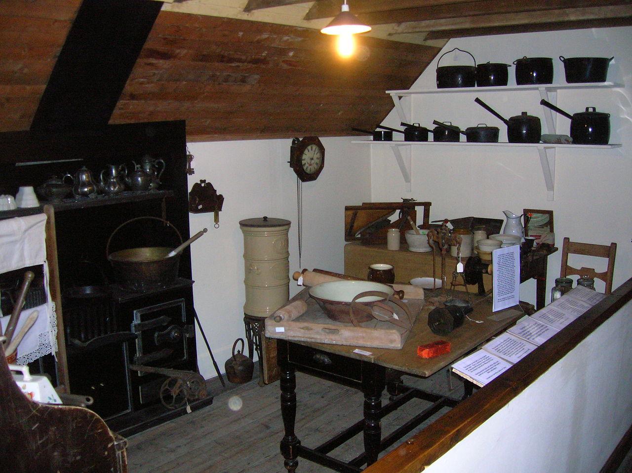 Victorian Kitchen Work Table