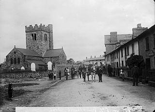 The church, Tywyn