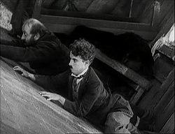 Charlie Chaplin og Mack Swain