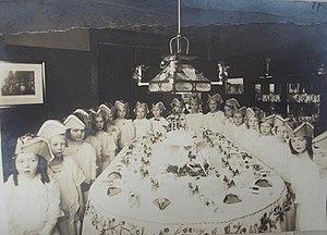Themed birthday party, ca. 1910-1915, likely i...