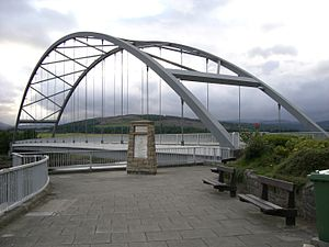Bonar Bridge - Image: Third Bridge at Bonar