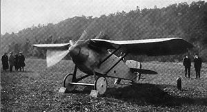 Thomas-Morse MB-7 takeoff