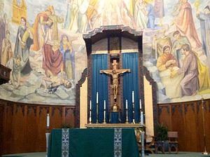 Saint Thomas Aquinas Cathedral - Image: Thomas Aquinas Reno Altar