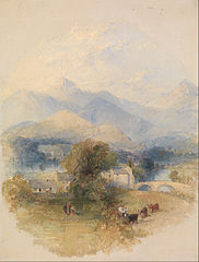 View from Mr. Southey's House, Keswick