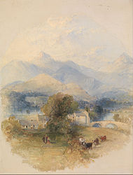Thomas Creswick: View from Mr. Southey's House, Keswick