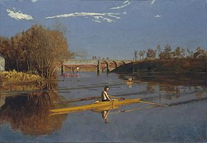 Girard Avenue Bridge - Image: Thomas Eakins Max Schmitt in a Single Scull
