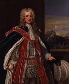 Thomas Pelham-Holles, 1st Duke of Newcastle-under-Lyne by Charles Jervas
