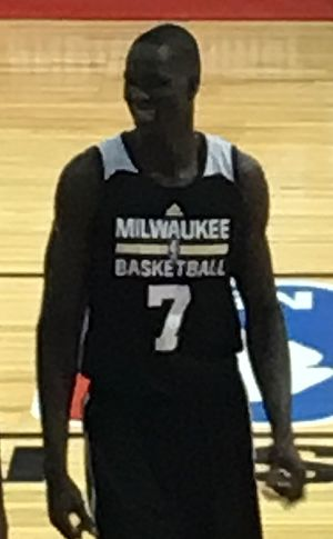 Thon Maker - Maker at the 2016 NBA Summer League