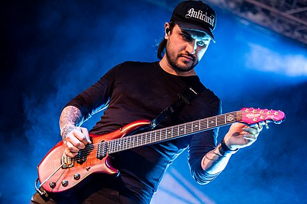 Guitarist Andy Marsh Thy Art Is Murder With Full Force 2018 06.jpg