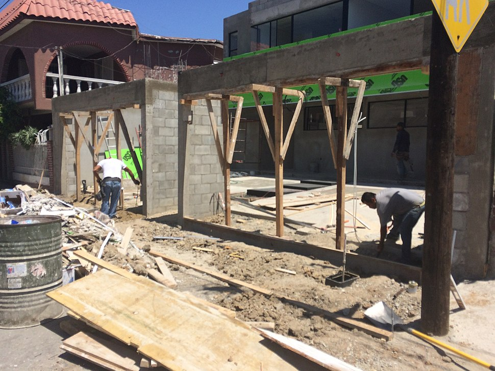 Tijuana residential construction