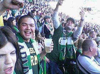 Portland Timbers - Portland Timbers fans