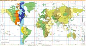 Indiana Time Zone Map By City.Utc 05 00 Wikipedia