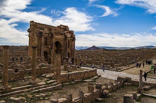 Timgad la ville