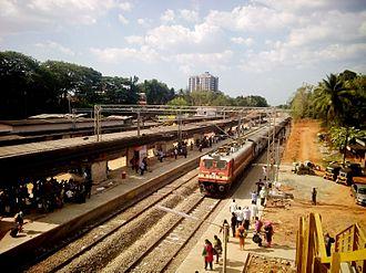 Thiruvalla - Tiruvalla Railway station
