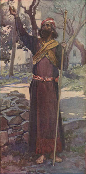 Zechariah (Hebrew prophet) - Zechariah as depicted by James Tissot