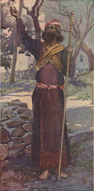 Zechariah (Hebrew prophet) - Zechariah as depicted by James Tissot