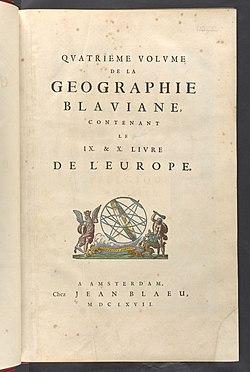 Title-page - Atlas Maior, vol 4 - Joan Blaeu, 1667 - BL 114.h(star).4 - 009.jpg