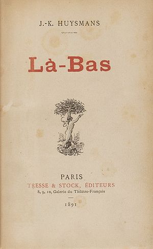 Là-bas (novel) - Title page of the first edition of Là-bas.