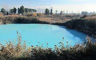 Albulae Aquae - Aquae Albulae - The thermal spring Queen's Lake (Lago della Regina)