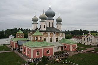 Tikhvin - Tikhvin Cathedral of Dormition