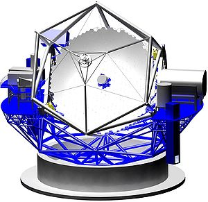 Thirty Meter Telescope - Thirty Meter Telescope design (late 2007).