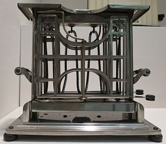 Home appliance - Early 20th century electric toaster