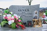 Tomb of Synuś family at Posada Cemetery in Sanok 2.jpg
