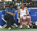 Toray PPO 2009 Patty Schnyder Rainer Hofmann.jpg