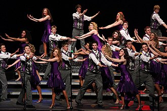 "Show choir - The Totino-Grace High School ""Company of Singers"" performing in 2010."