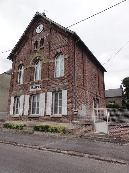 Toulis-et-Attencourt (Aisne) mairie