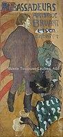 Toulouse-Lautrec - AMBASSADEURS, ARISTIDE BRUANT ET SON CABARET, 1892, MTL.141.jpg