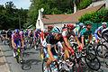 Tour de France 2011 étape 7 sortie Chaumont peloton 6.jpg