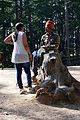 Tourist and Horse Caretaker - Naldehra 2014-05-08 1841.JPG