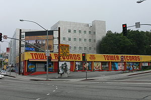 Tower Records - Tower Records on the Sunset Strip